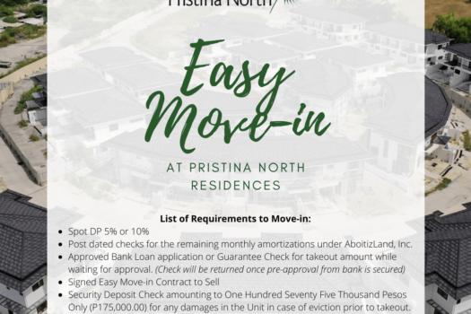 pristina easy move in