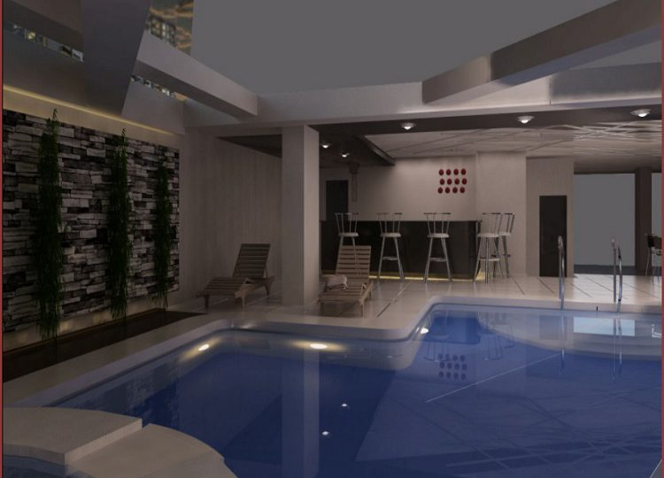 CGT Perspective Swimming Pool Area 2