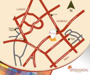 Persimmon Vicinity Map
